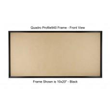 8x16 Picture Frames - Profile375 - GLASS-Box of 36 / PLASTIC-Box of 48