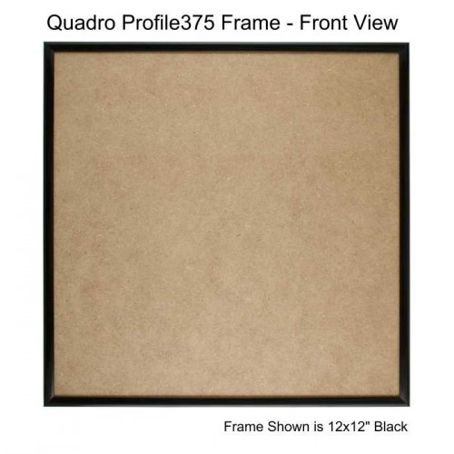 10x10 Picture Frames - Profile375 - GLASS-Box of 36 / PLASTIC-Box of 48