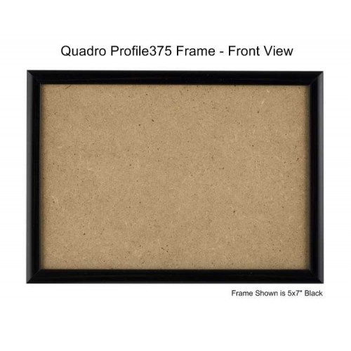 Quadro Frames Black 7x9 Inch Picture Frame Box Of 6
