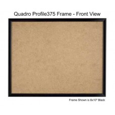 8x10 Picture Frames - Profile375 - GLASS-Box of  48 / PLASTIC-Box of 60