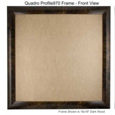 16x16 Picture Frames - Profile970 - Box of 4